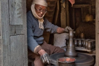 Töpfer in Bhaktapur - Nepal