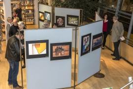 oberer Ausstellungsbereich in der Bibliothek