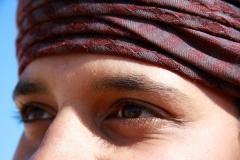 Augenblick eines Omani