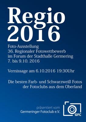 REGIO 2016 Plakat